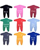 Me and my Mum Love Daddy Baby Sleepsuit Babygro Newborn -12 mths choice of 9 Colours