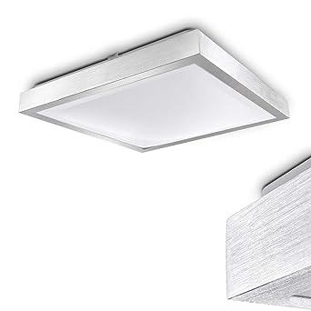 Quadratische LED Leuchte Sora Für Badezimmer U2013 Küche U2013 Flur U2013 Esszimmer U2013  Eckige Badleuchte Im