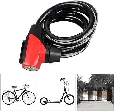 Candado Bicicleta alta Seguridad,Bloqueo de Bicicleta de Acero ...
