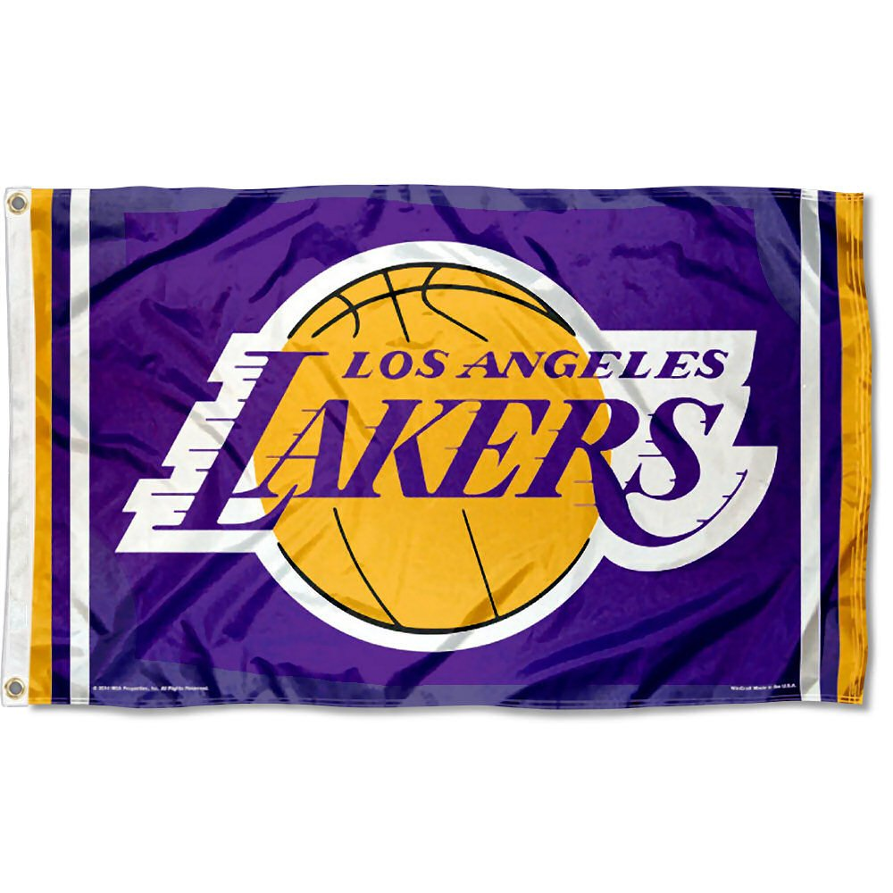 WinCraft NBA Los Angeles Lakers Flag 3x5 Banner