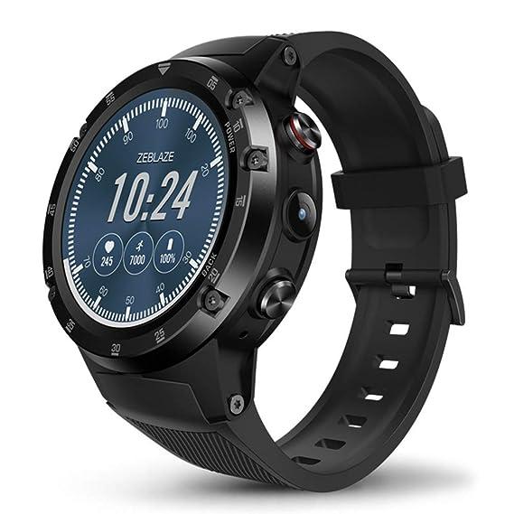 Amazon.com: Bluetooth Smartwatch Fitness Tracker, Zeblaze ...