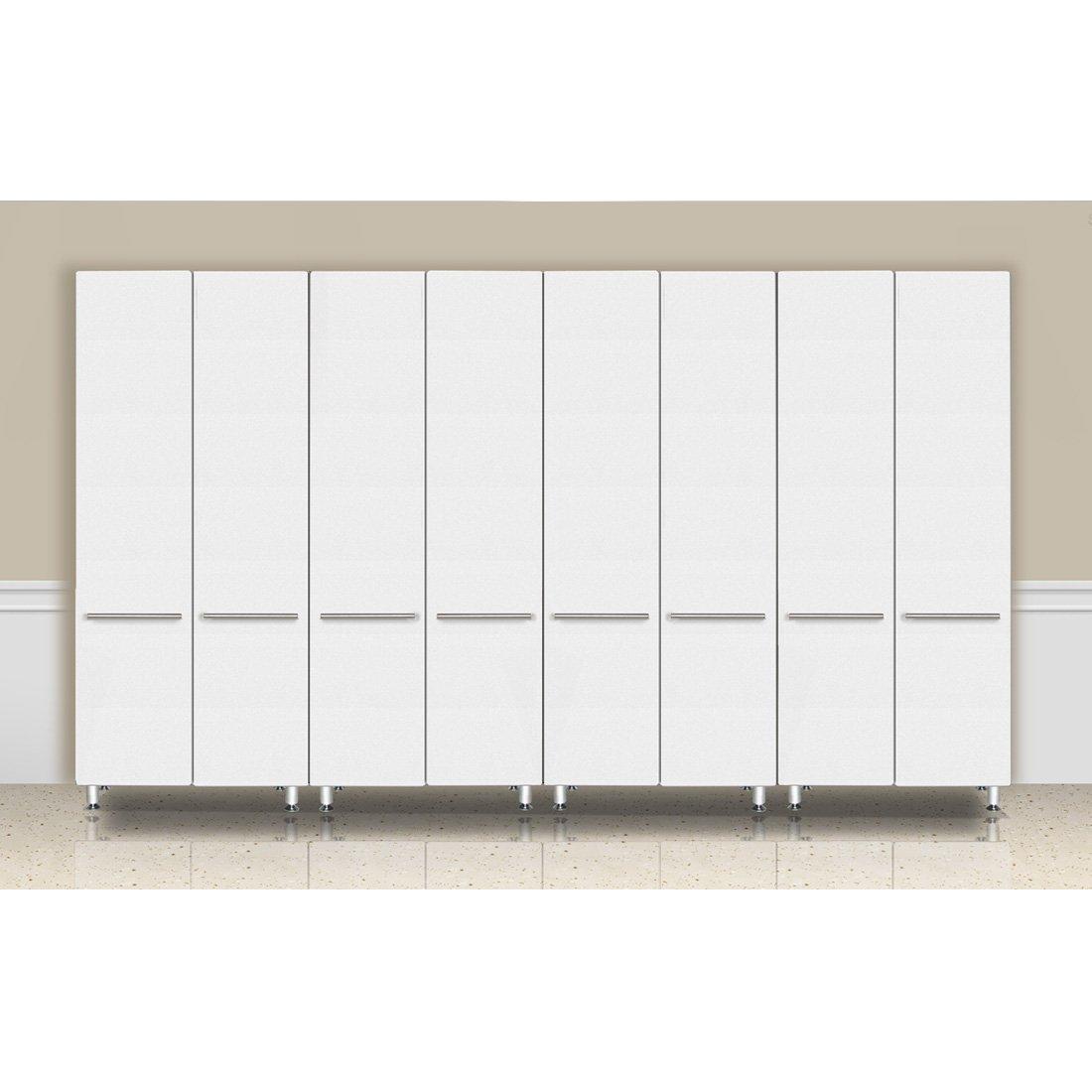 Ulti-MATE Storage GA-064KSW 4-Piece Tall Garage Cabinet Kit in Starfire Pearl