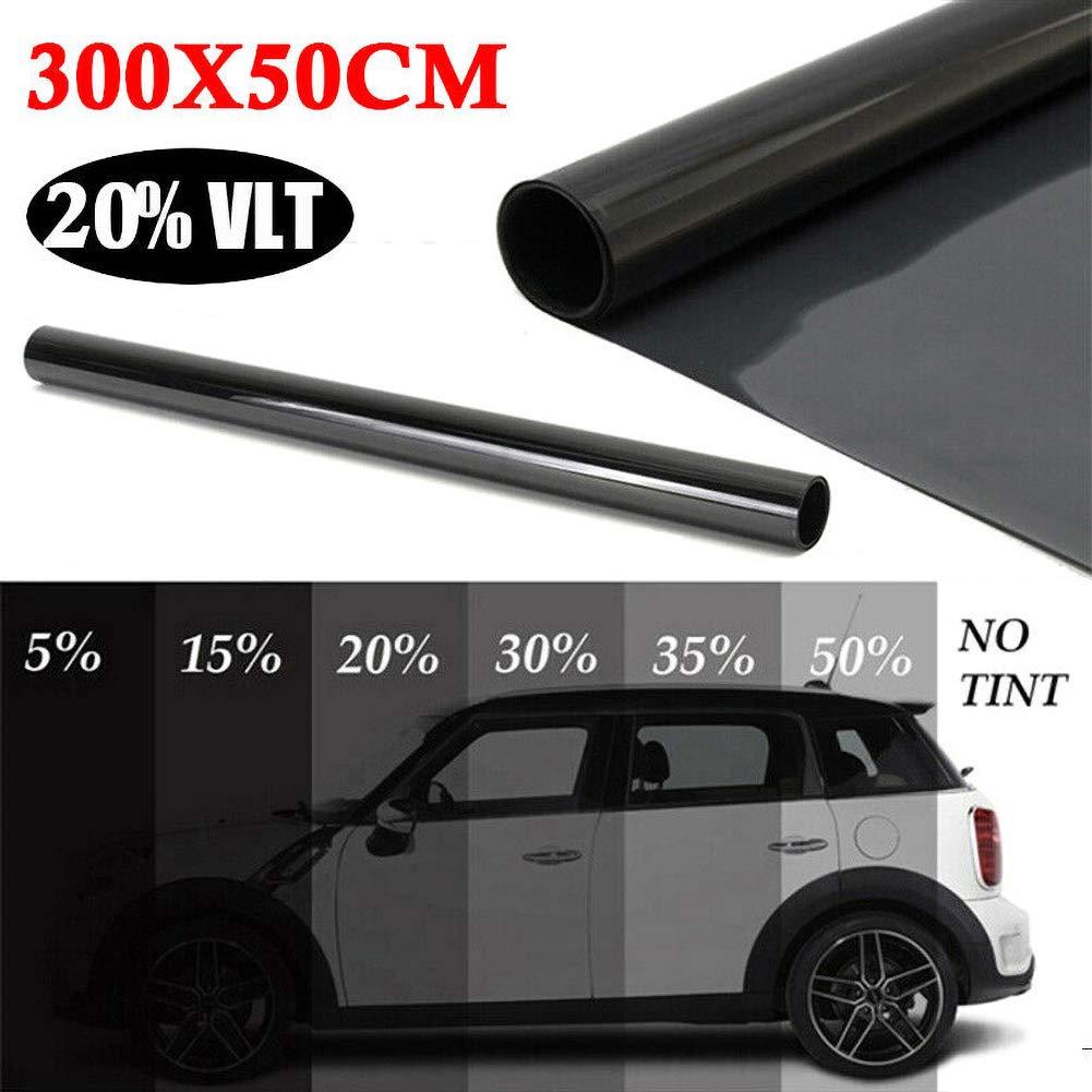vitihipsy Uncut Roll Window Tint Film 15/% VLT 10ft Feet Car Home Office Glass