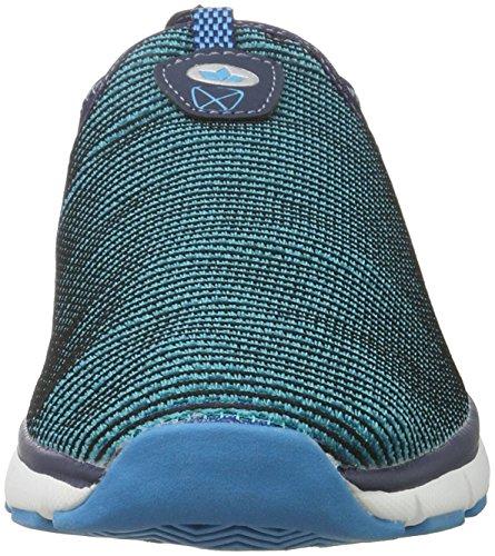 Uomo Blau Nero Slip Mocassini Lico Blu marino In Multi 6fnwSa