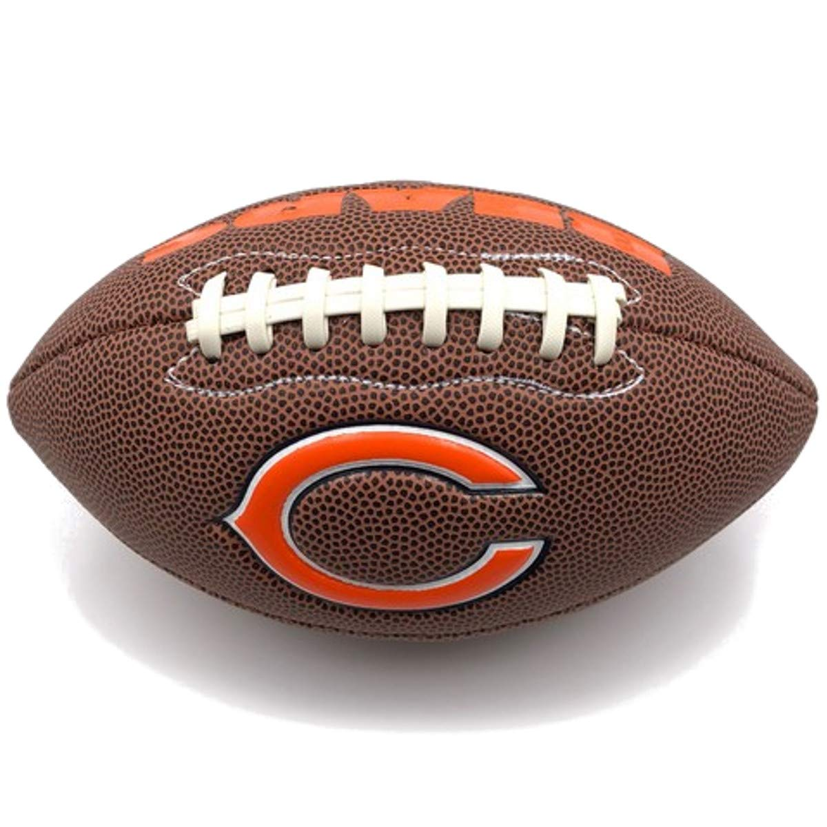 Jarden Sports Licensing Official National Football League Fan Shop Authentic NFL AIR IT Out Youth Football. Great for Pick up Game with The Kids. (Chicago Bears)