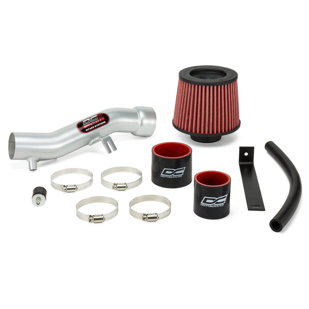 DC Sports SRI4401 Scion xB Polished Short Ram Intake System with Filter and Installation Hardware