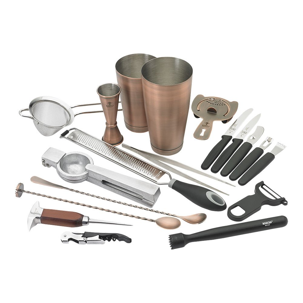 Barfly Deluxe Set, Antique Copper
