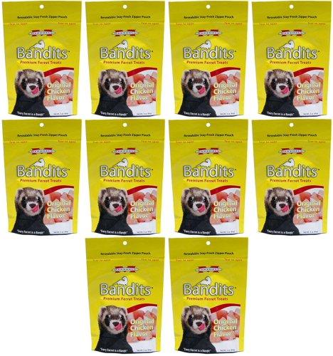 Marshall Bandits Ferret Treat Chicken 1.875lbs (10 x 3oz)