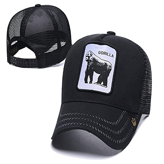 sdssup Gorra de Malla Bordada Visera Serie Animal 14 Ajustable ...