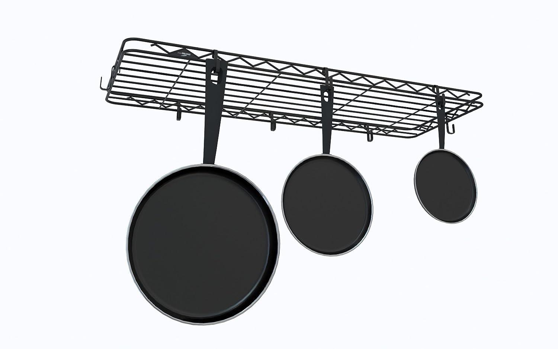 InterMETRO Hanging Pot Rack InterMetro Industries PR1436B