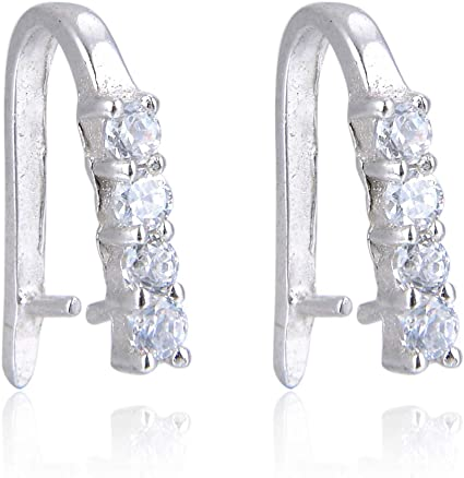 Lot of 10 Open Diamond Shaped 9mm Link Connector Bead Charms Plated Brass Metal
