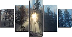 EEUK 5 Art Paintings on Canvas, Suitable for Kitchen, Living Room, Bedroom, Study Room, Office, Bar, Etc,B:30452 30602 30751