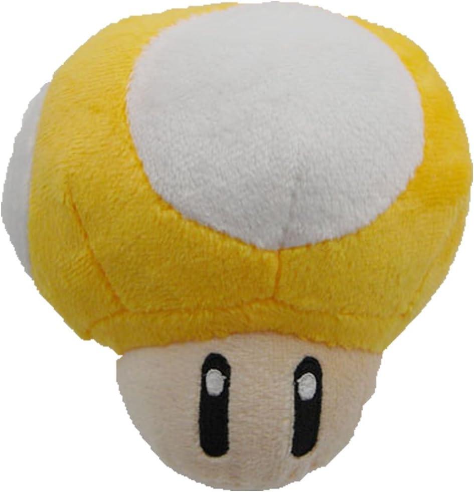 Amazon Com Super Mario Bros Mini Mushroom 2 5 Plush Toy Key