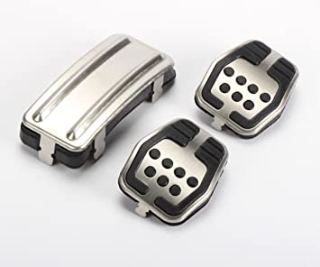 Emblema Trading Ford Kuga Focus 2 3 MK3 MK2 Diseño Tuning Pedales schaltung Engranaje Acero Inoxidable: Amazon.es: Coche y moto