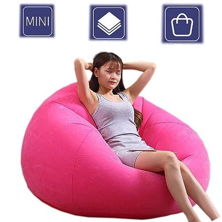 EFGS Impermeable Sofa Hinchable, Plegable Cómodo Ronda ...