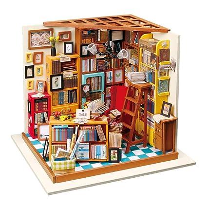 anna-neek casa de bricolaje 3d DIY Dollhouse con luz LED ...
