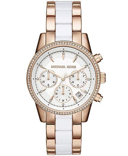 Michael Kors Reloj analogico para Mujer de Cuarzo con Correa en Acero Inoxidable MK6324: Michael Kors: Amazon.es: Relojes