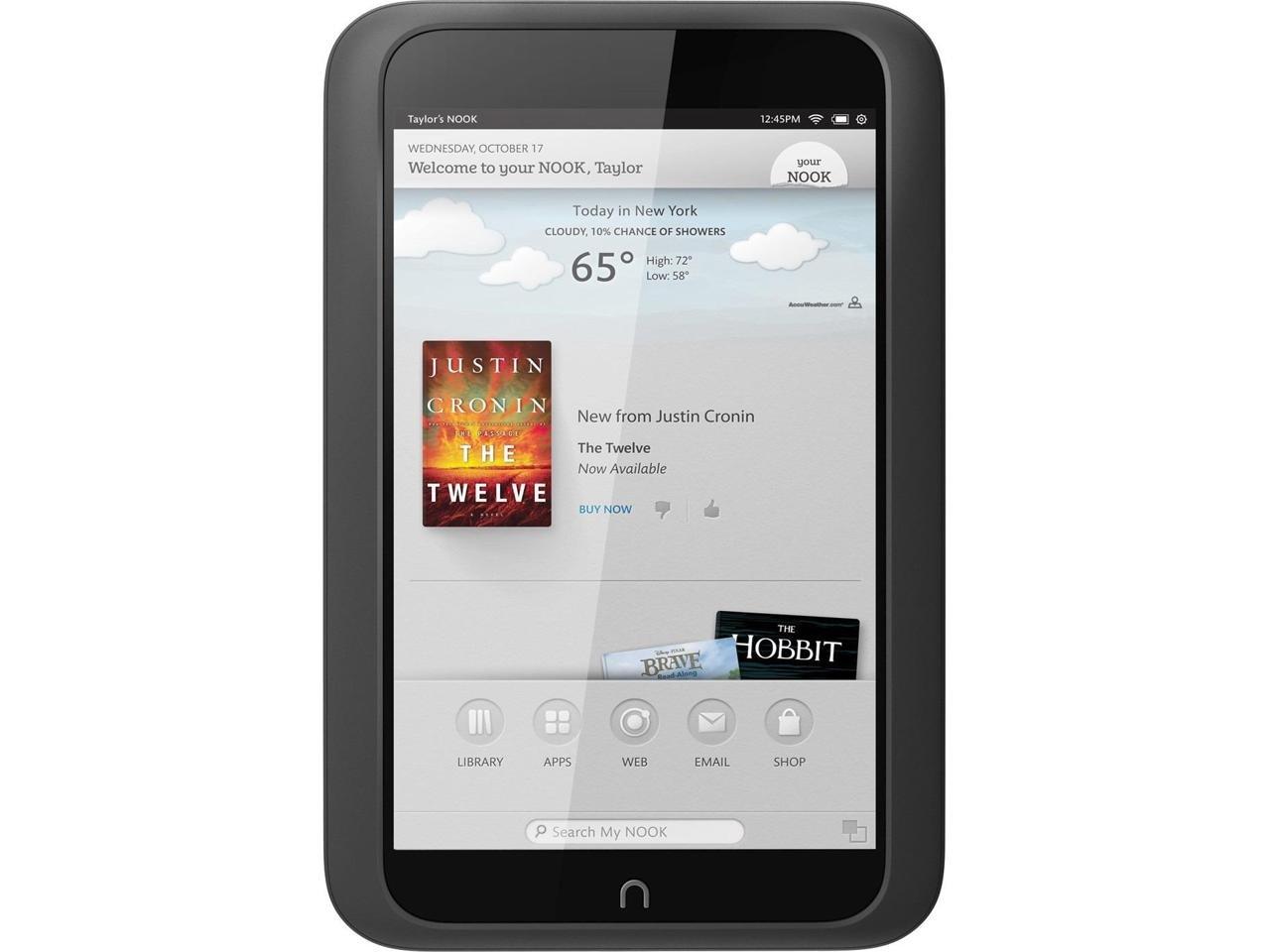 Barnes & Noble NOOK HD Tablet 8GB Snow (BNTV400-8GB-WHT)
