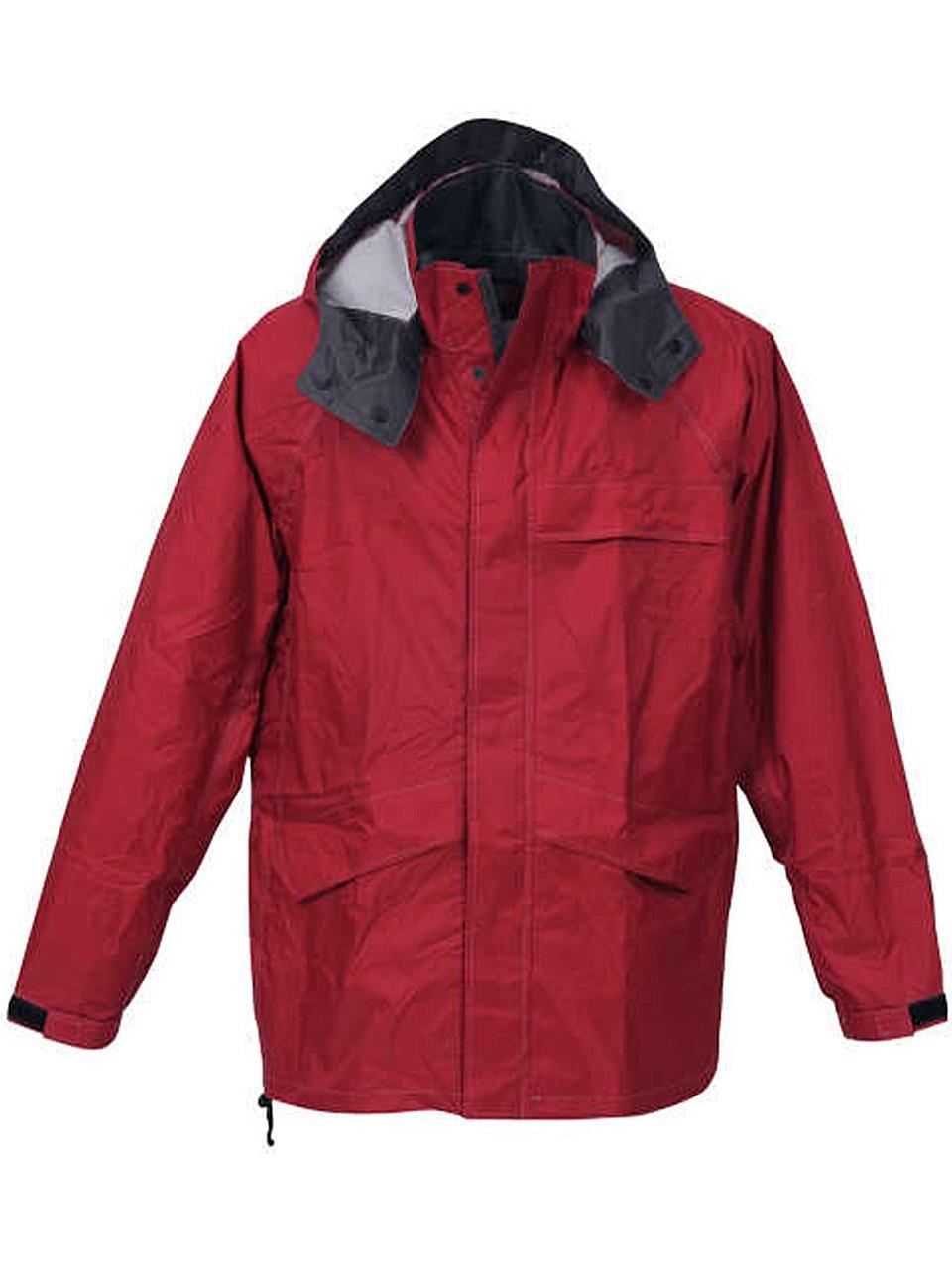 (ラグタイム セレクト) Ragtime Select 合羽 レインウエア レインジャケット 大きいサイズ メンズ 雨具 作業着 作業服 雨 C300419-01 B07CH9C6W3 5L|レッド レッド 5L