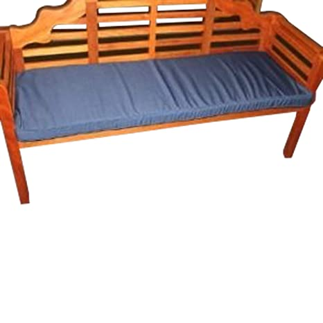UK-Gardens - Azul Marino Muebles de jardín 3 plazas Banco de ...