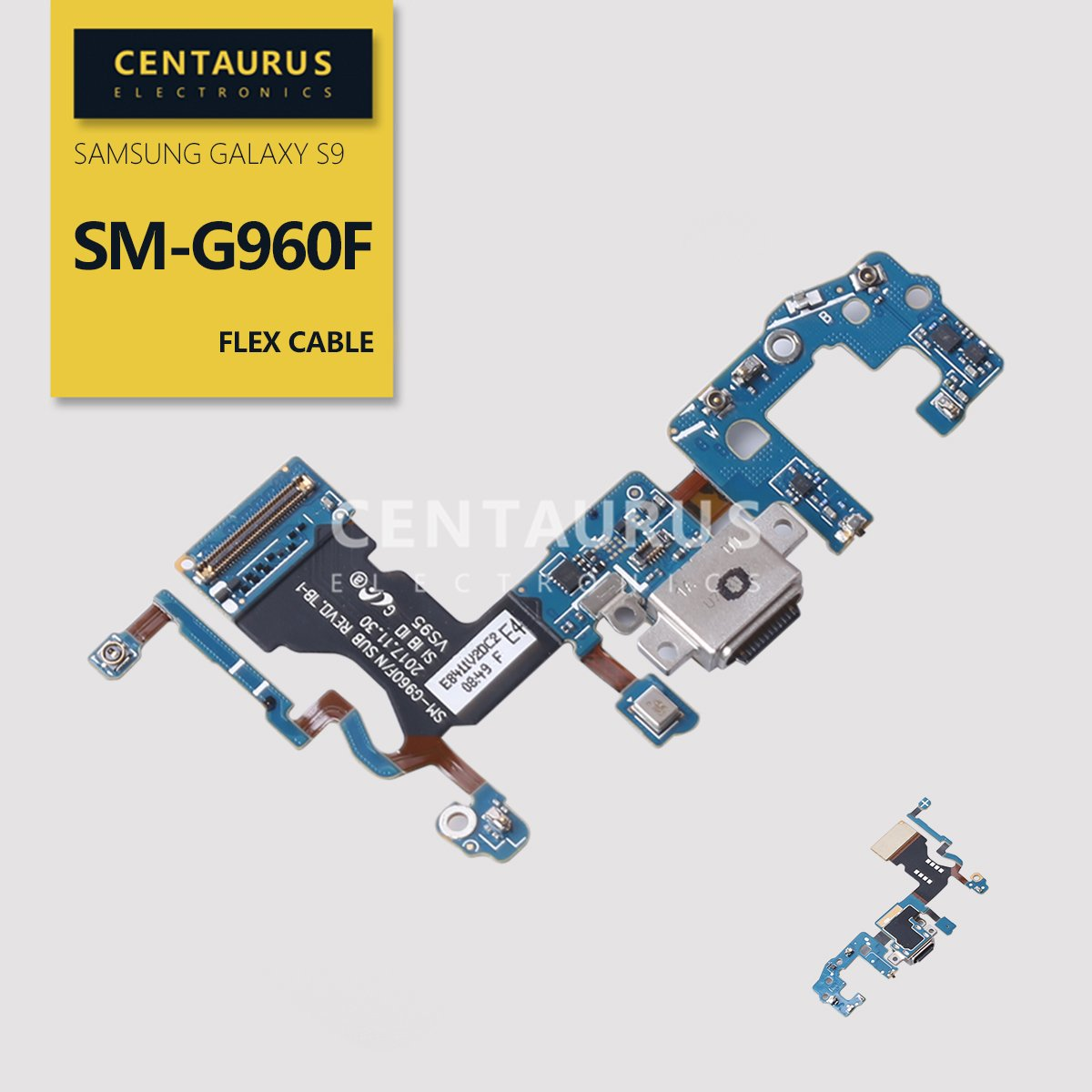 Puerto de Carga para Samsung S9 SM-G960F 5.8 Board Port Doc