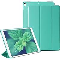 RKINC iPad Mini 1 2 3 Smart Case Cover [Cuero Sintético] Soft Back Funda Magnética con Función de Apagado/Función de Encendido [Ultra Slim] [Ligero] para iPad Mini 1/2/3 (Verde)