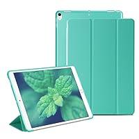 RKINC iPad Mini 4 Smart Case Cover [Cuero Sintético] Soft Back Funda Magnética con Función de Apagado/Función de Encendido [Ultra Slim] [Ligero] para iPad Mini 4 (Verde)