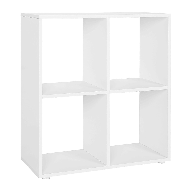 tagre 4 cases couleur blanche etagre escalier diviseur de pice bibliothque meuble rangement