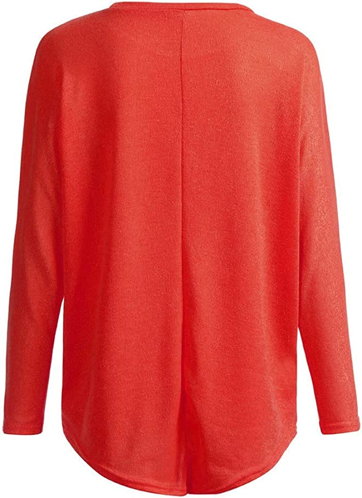 Ulanda Womens Sweater Long Batwing Sleeve Oversized Baggy Off-Shoulder Shirts Loose Pullover T-Shirt Tops