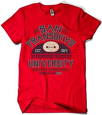 690-Camiseta San Fransokyo University (Arinesart)