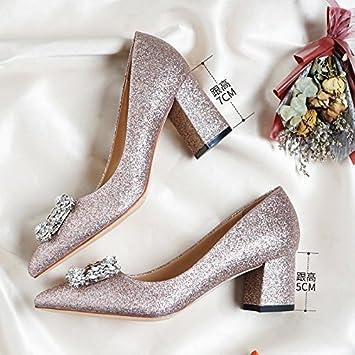 High Weiblich Damen Rosa Huaihaiz Heels Pumps Hochzeit Schuhe bfvmYI6gy7