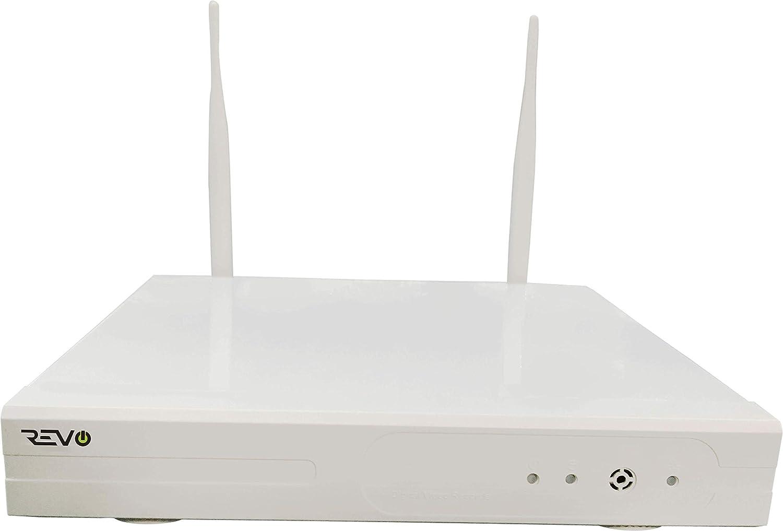 Amazon.com : Revo America Wireless 4 Ch. NVR Surveillance System with 4 HD Wireless Bullet Cameras : Revo Security System : Camera & Photo