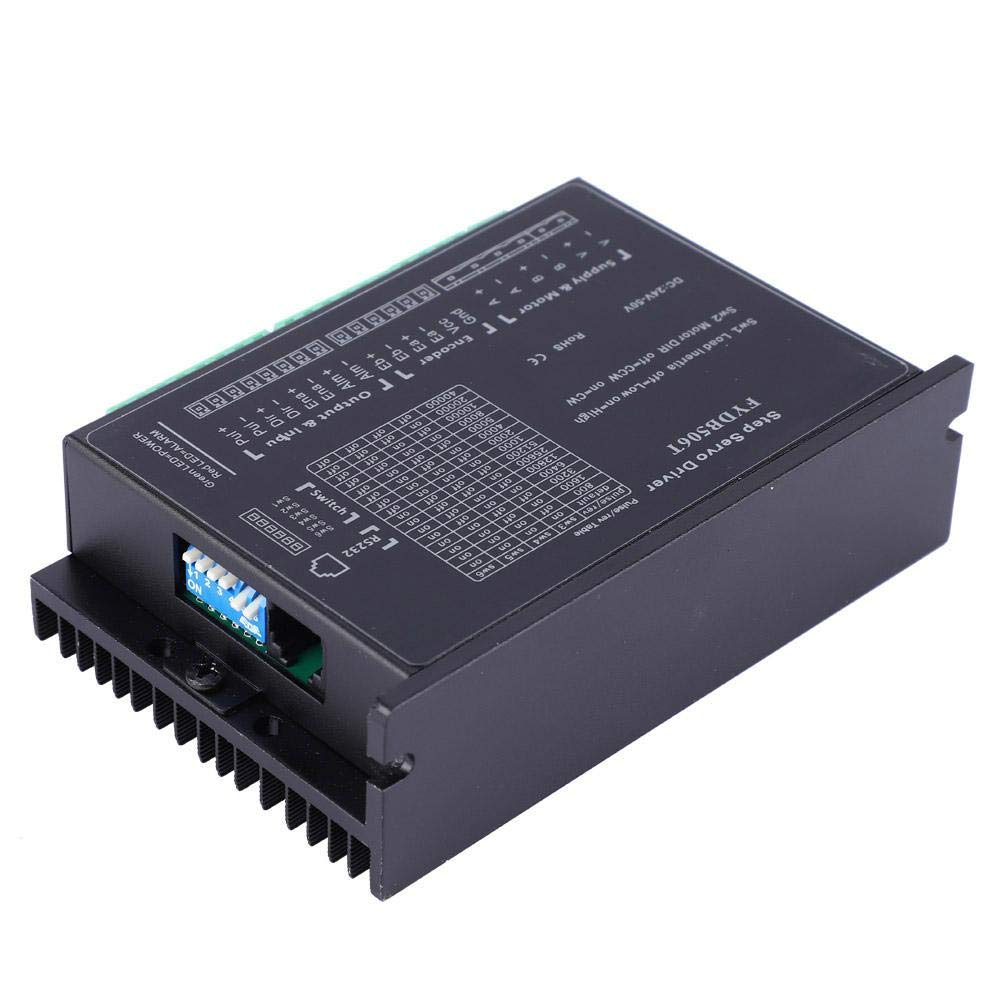 DC 24-50V 2.0~6.0A//Phase Automatic Adjustment 42//56//57//60 2 Phase Closed Loop Stepper Motor Driver Motor Controller Module Motor Driver