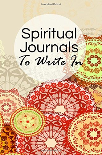 Spiritual Journals To Write In: Blank Prayer Journal, 6 x 9, 108 Lined Pages