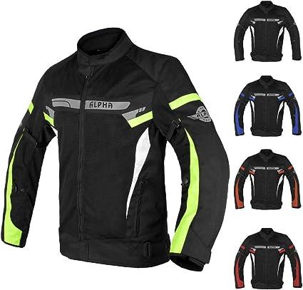 NORMAN Motorbike Motorcycle Waterproof Cordura Textile Trousers Pants Armours Black//Blue