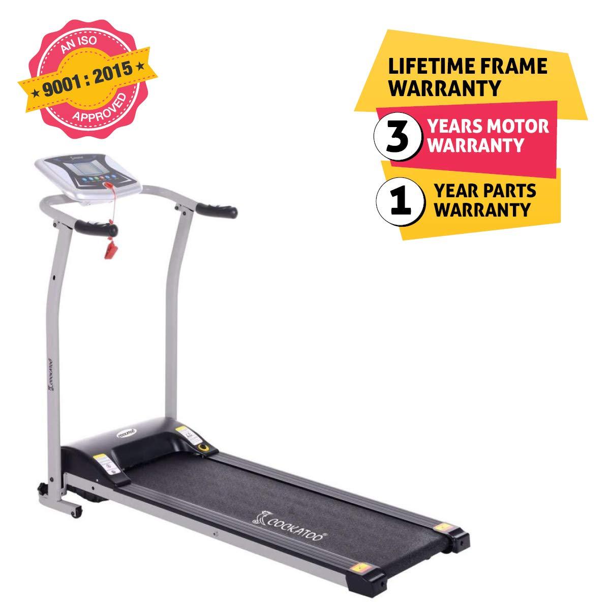 Cockatoo CTM08 Series Motorized Treadmill (1.5-2HP), Free