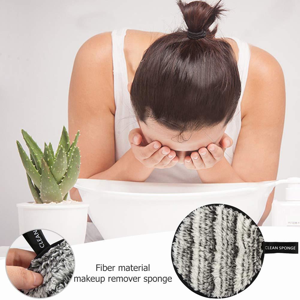 Everpert Lavable Reutilizable Facial Almohadillas Desmaquillantes Discos Desmaquillantes Ecologicos