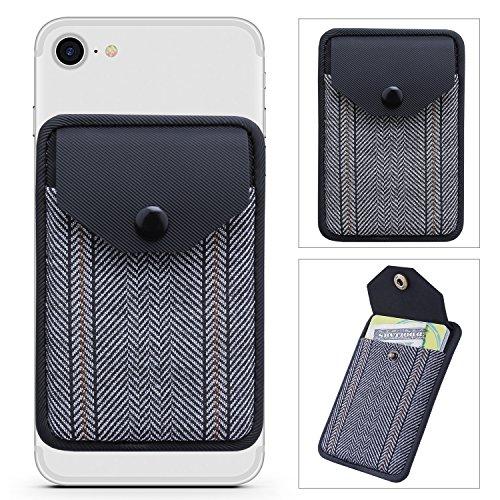 Card Holder for Back of Phone, Ultra-Slim