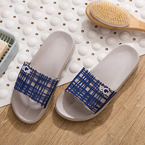 Shower House Lightweight 5 Floor Slipper Unisex Slip Indoor Sandals YUENA Non CARE Slippers pgqWwYS