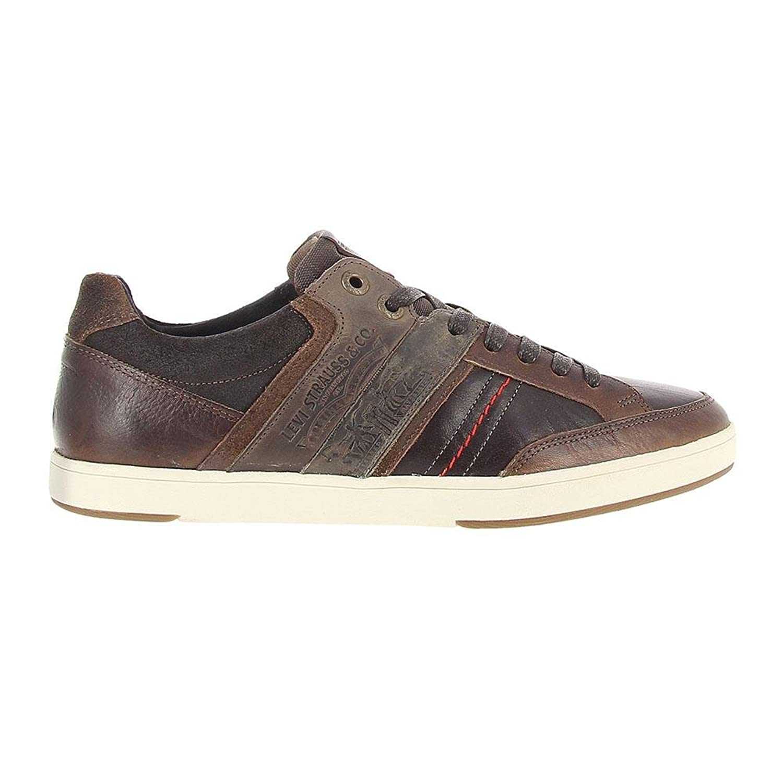 Levi's Herren Beyers Sneaker  WeißLevis 226776 Marron Size 39 Billig und erschwinglich Im Verkauf