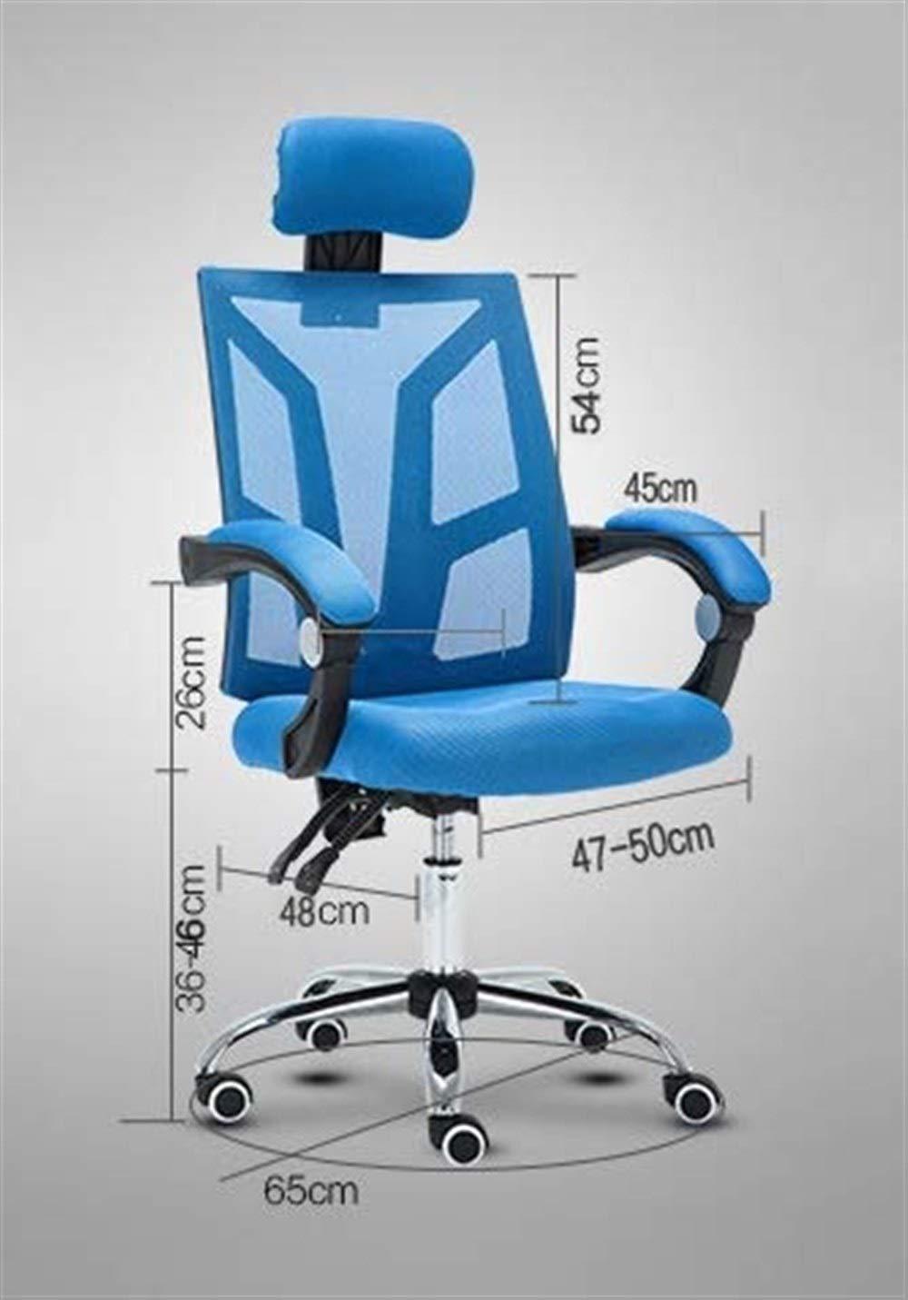 Kontorsstol konferensstol personalstol vridstol hushållsstol datorstol GMING (färg: svart) SVART