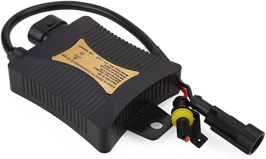 Sedeta/® Slim HID ballast Car Slim 12V 55W Replacement Conversion Xenon HID Ballasts Pour H1 H3 H7 H11 Noir