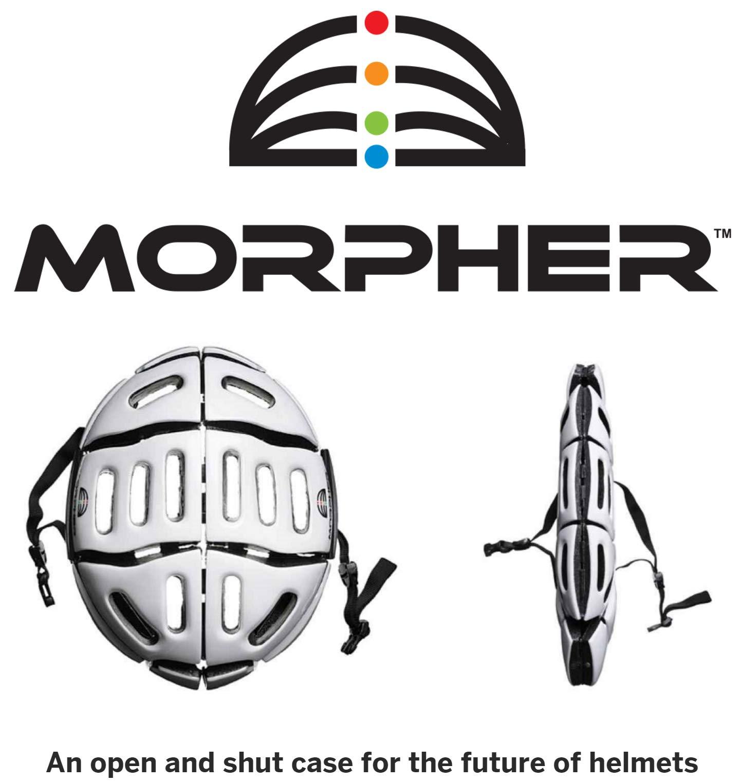 Morpher - Flat Folding Helmet (Frosty White) by Morpher