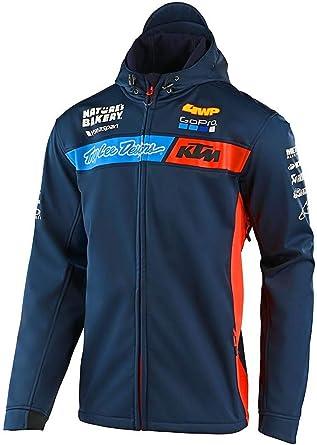 Navy Troy Lee Designs 2019 Team TLD KTM Zip Up Mens Hoodie