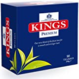 Kings Premium Tea, 400 Tea Bags of English Tea: 5 individually over wrapped boxes of 80s