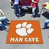 Clemson University Man Cave Tailgater Rug 60''''x72''''