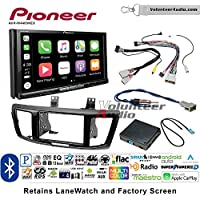 Volunteer Audio Pioneer AVH-W4400NEX Double Din Radio Install Kit with Wireless Apple CarPlay, Android Auto, Bluetooth Fits 2013-2015 Honda Accord