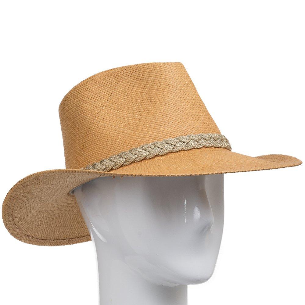 Authentic Aficionado Straw Panama Hat Putty 7 5/8 by Ultrafino (Image #3)
