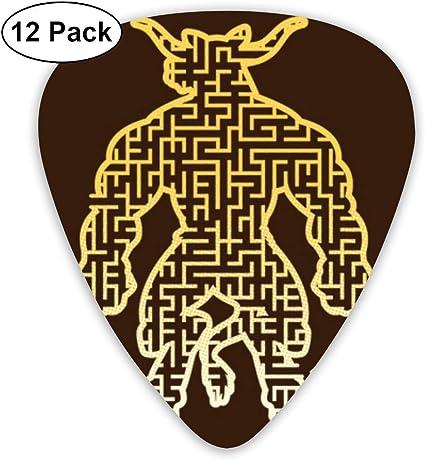 Millezhenq4 Púas De Guitarra Maze In The Minotaur Púas De Guitarra ...