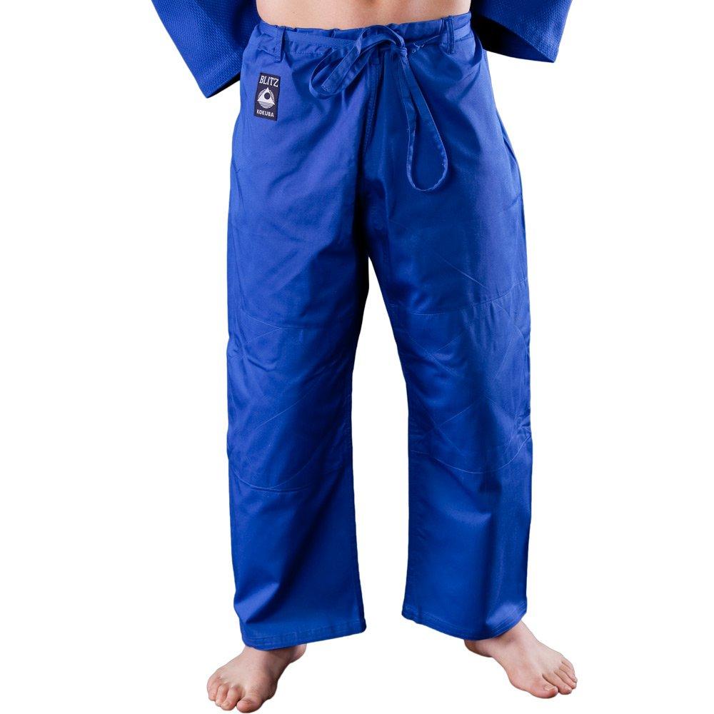 Blitz Student Judo-Hose aus Baumwolle, Schwarz, 190 cm,